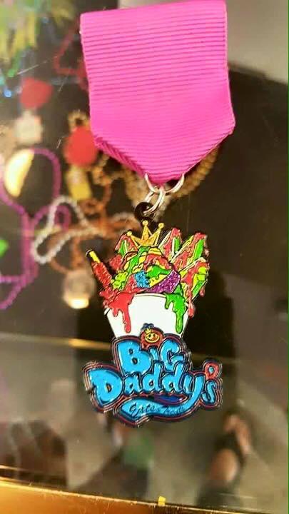 Big Daddys fiesta medal