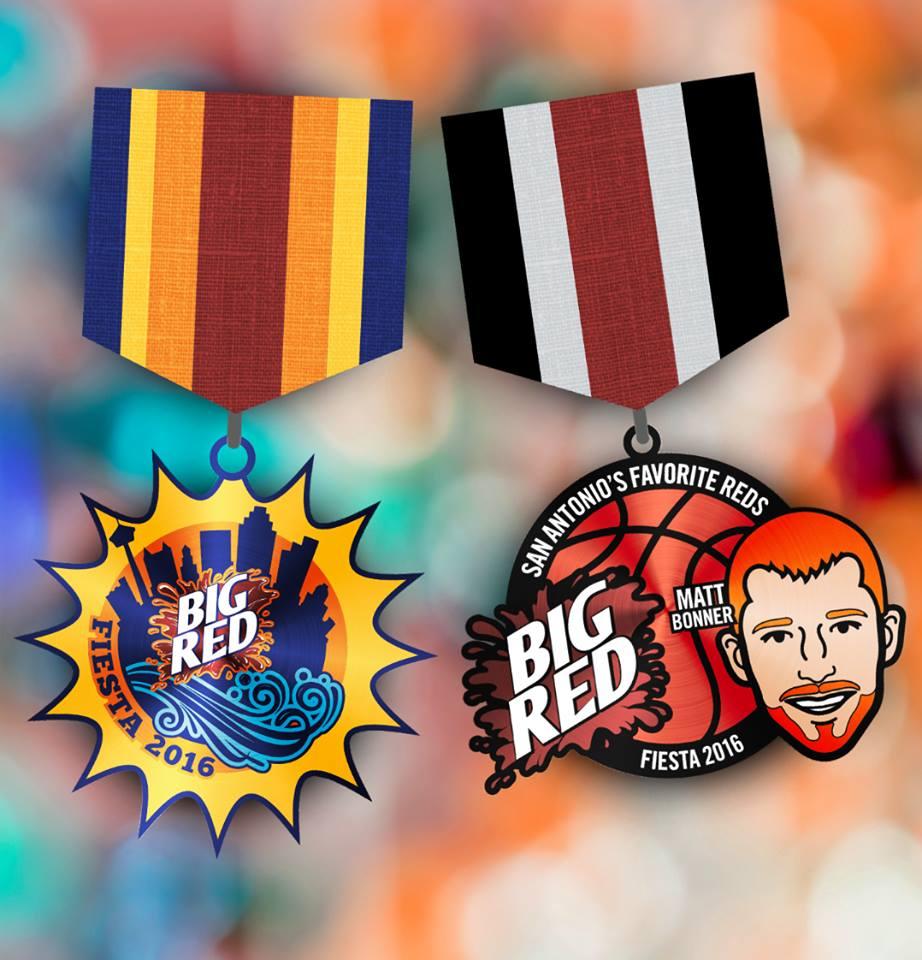 Big Red medal
