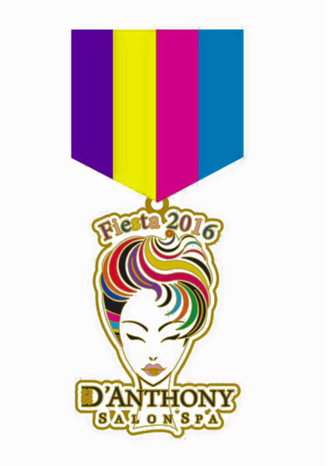 D'Anthony fiesta medal