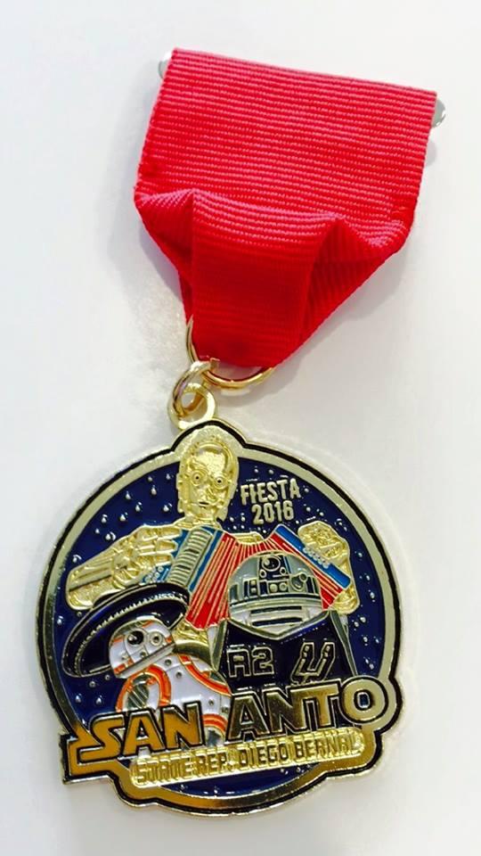 Diego Bernal medal