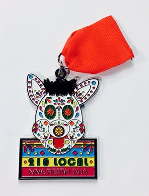 Spurs Coyote fiesta medal