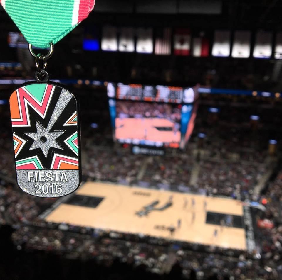 Spurs fiesta medal