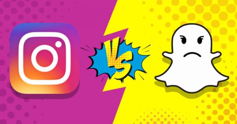 The Storied War of Instagram and Snapchat