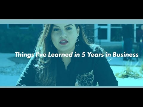 La Chingona Vlogs – Episode 2 – What I've Learned in 5 Years of Business